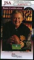 Eddie Lebaron 1992 Pro Line Autograph Jsa  Authentic Hand Signed