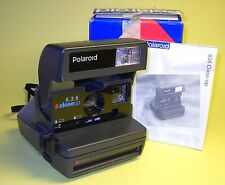 Polaroid 636 CloseUp perfectly working in extremely good condition w/Box +Instr!