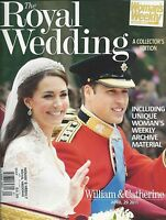 Royal Wedding Special Magazine Kate Middleton Prince William Queen Elizabeth
