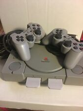 Sony PlayStation Launch Edition Gray Console with 2 controllers
