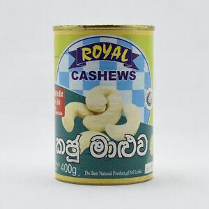 Cashews Curry Tin 400g Ceylon Taste Fresh Healthy Free Shipping