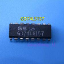 10pcs GD74LS157  Signal switch multiplexer logic chip IC DIP-16 new