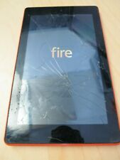 """CRACKED Amazon Kindle Fire 7 7th Gen 16GB Wi-Fi 7"""" SR043KL With Webcam F0V8"""