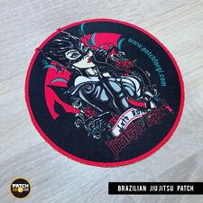 Brazilian Jiu Jitsu Gi Patch JiuGirl on Kimono Mma Bjj Grappling