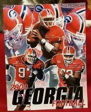 Georgia Bulldogs 2000 Media Guide Quincy Carter, Marcus Stroud, Richard Johnson,
