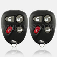 2 Car Key Fob Keyless Remote For 2001 2002 2003 2004 2005 Pontiac Grand AM