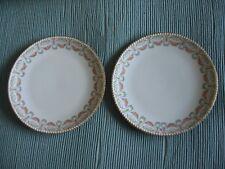 Vintage J.Pouyat Limoges side cake Plates J.P.L. France x 2 vgc