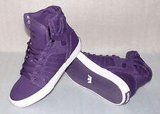 Supra SKYTOP S13025K HI Cut Junior Schuhe Freizeit Sneaker EU 36 UK3 Purple Weiß