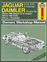 Jaguar XJ12 & XJS Reparaturanleitung workshop repair manual Hand-Buch book XJ-S