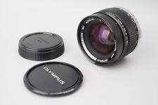 Olympus OM System Zuiko MC Auto W 35mm f/2 f2 Manual Focus Lens, For OM Mount