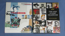 Pair of Commemorative Stamp Yearbooks 2009 & 2010 Complete with Sealed Stamps