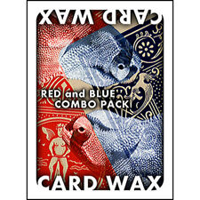 Card Wax Combo Pack Magic Trick Red & Blue Flying Floating Card Wax & Thread