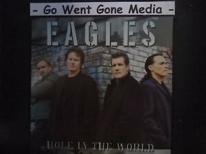 EAGLES - Hole in the world - DVD Single 4 Tracks + CD Bonus-Disc