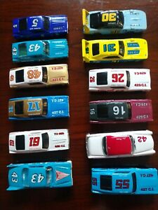 Racing Champions Legends Cars Lot Of 12 Petty Pearson Lund 1/64th