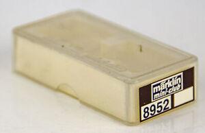Vintage Marklin Mini-Club 8952 German Z Scale Empty Train Carrying Case