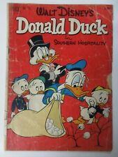 DONALD DUCK #FC379 (Dell Four Color,1/1952) PR (POOR)  Walt Disney, 2nd Scrooge!