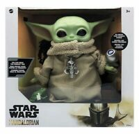 Star Wars Mandalorian The Child Baby Yoda Animatronic Toy Figure NEW IN HAND FS