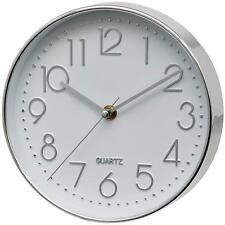 Unity Cambourne Wall Clock, Silver, (unsw940)
