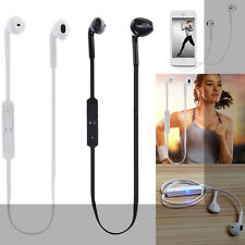Black Bluetooth Sport Wireless Headset Stereo Headphone Earphone for iphoneX 8