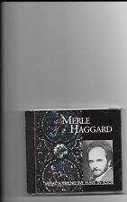 "MERLE HAGGARD, CD ""WHAT A FRIEND WE HAVE IN JESUS"" NEW SEALED"