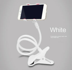 Mobile Phone Stand 360 Degree Rotation Cellphone Bracket Clamp Clip Holder