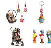 Crib,Pram,Stroller,Buggy,Puschair, Cot, Car Seat Rattles Jingling Hanging Toy