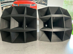2x Multicell Horn Siemens Isophon HM 10 Tweeter for Klangfilm Projects, B-ware