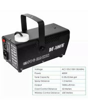 Fog Machine, Miric Smoke Machine Portable with LED Lights Wired/Wireless Control