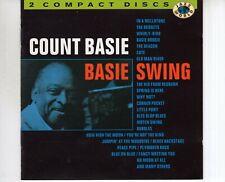 CD COUNT BASIEBasie swingPORTUGAL 2CD EX+ (R1825)
