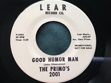 Hear Rare Breaks Sampleable 45 : The Primo's ~ Good Humor Man ~ Lear 2001 Promo