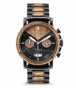 Original Grain Alterra Chronograph 44mm Koa Stone Washed Watch ogchsw1