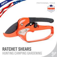 Pruning Shears Bonsai Shear Ratchet scissors Locked Soft Grips Secure Garden