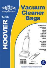5 x HOOVER TURBOPOWER Vacuum Cleaner Bags H18 Type U2466, U2812, U2814, U2876