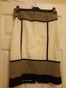 Ladies Karen Millen Geometric Pencil Skirt Size 12