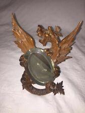 Antique French Carved Dragon with mirror. Attr. Viardot Very Rare
