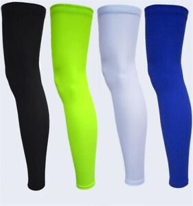 Cycling Leg Warmers Running Sleeve Winter Thermal Elastic Compression Protector