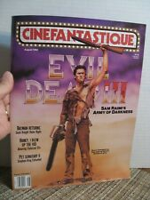 Cinefantastique Aug. 1992 - Evil Dead Iii, Pet Sematary Ii, Batman Returns