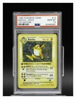 Holo - 1st Base Set - Raichu 14/102 - PSA 10 - US