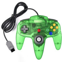Jungle Green N64 Wired Analog Retro Classic Gamepad Controller For Nintendo 64