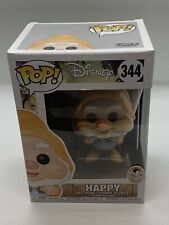 Funko Pop! Disney 344 Happy Dwarf Snow White 80th Anniversary Vaulted Rare New