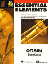 Essential Elements Bläserklasse Posaune in C im Bass-Schlüssel Band 2 Noten m CD