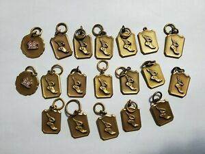 19 New Old Stock 1930's Track & Field Medals From Dieges & Clust NY NO Reserve