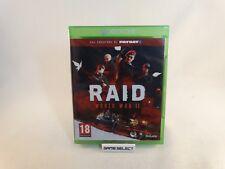 RAID WORLD WAR II dai creatori di PAYDAY 2 XBOX ONE PAL EUR ITA ITALIANO NUOVO