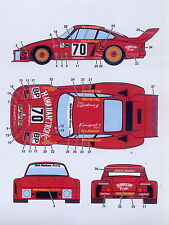 1/12 Porsche 935 Hawiian Tropic decal/Tamiya
