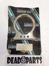 Harley chrome single speedometer tachometer mount mounting bracket 67053-83