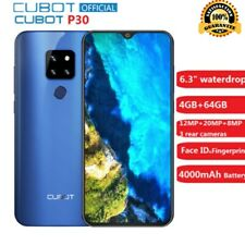 "Cubot P30 Smartphone 6.3"" 4GB+64GB Android9.0 Helio P23 AI 4*KAM Face ID 4000mAh"