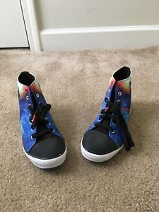Star Wars Skechers Men's Size 6 High Top Come to Dark Side Athletic Shoes