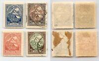 Latvia 1919 SC 70-73 mint . rtb6038