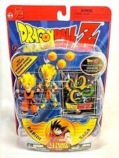 """Irwin Toys 2002 Dragon Ball Z Babidi Saga Super Saiyan Goten & Trunks 3"""" Figures"""