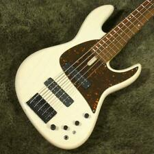 Used Fodera NYC Empire Electric Bass 5st  HH Rose FB W/GB Free Shipping